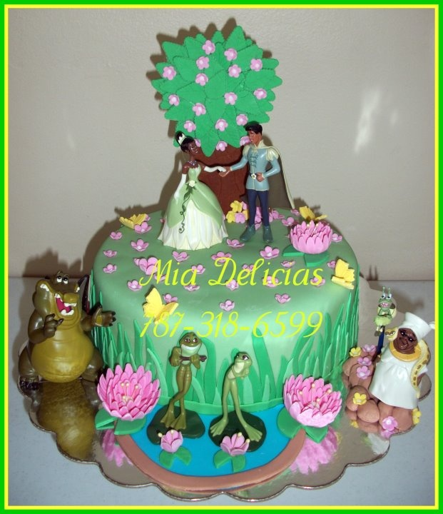 Best 43 Cakes Princess And The Frog Ideas On Pinterest Disney