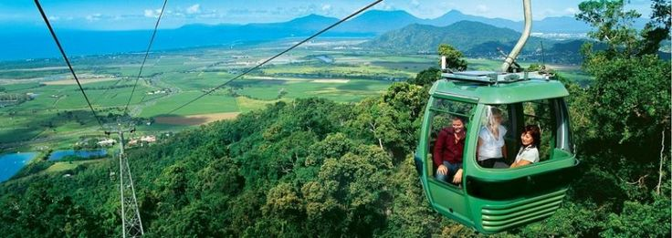 This step back in time will leave you breathless, giving you extraordinary views of the Coral Sea, World Heritage listed rainforest, exotic Gorges, lovely cascades and large waterfalls on-route. bit.ly/1vWWCoF