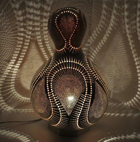 Gourd Lamps | Turkei Gourd lamp