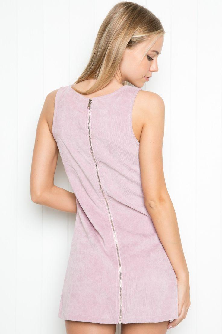 Brandy ♥ Melville | Jenna Corduroy Dress - Dresses - Clothing