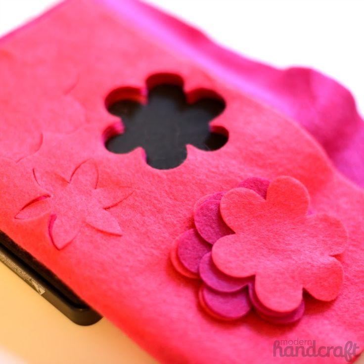Flower Power Pillow Tutorial // Modern Handcraft for Sizzix Tutorial: http://blog.sizzix.com/sizzix-tutorial-flower-power-pillow/
