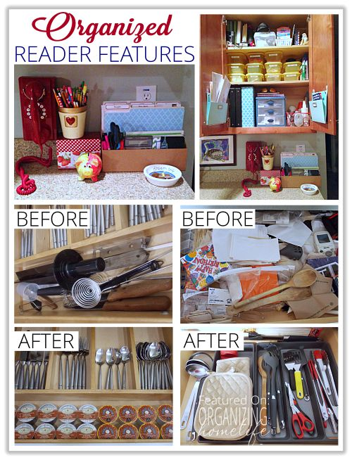 Great Organized Reader Spaces And Questions Answered ~ Organize Your Kitchen  Frugally Day 31   Organizing Homelife