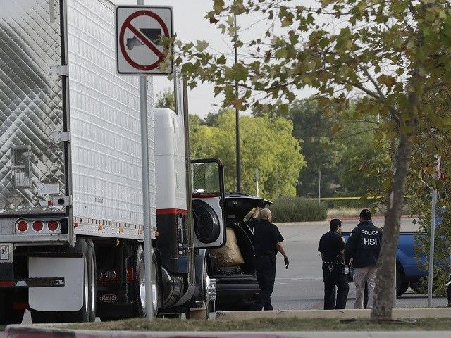 Texas Lt. Governor Dan Patrick put the blame for the deaths of 10 illegal aliens packed in the back of an 18-wheeler on sanctuary cities.
