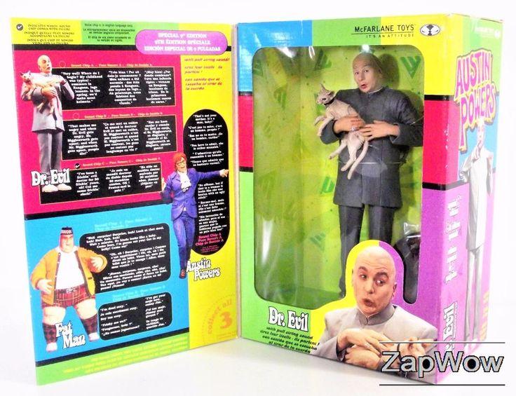 AUSTIN POWERS Dr Evil Talking Action Figure by McFarlane Toys. For sale £14.99