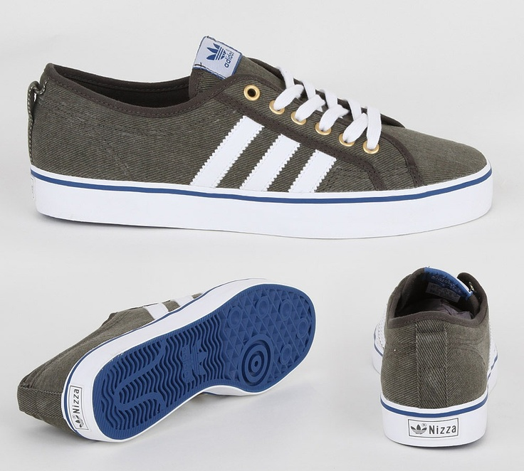 Adidas Nizza Low CL trainer. Bought from Footasylum, should go well with the chinos look, plus works with jeans.