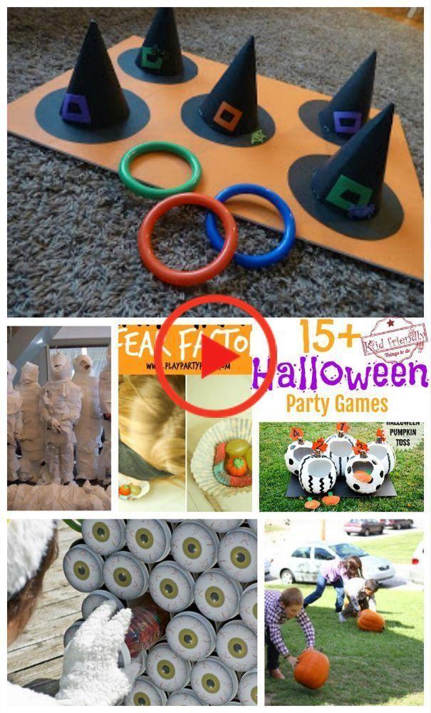 Über 15 Super Fun HalloweenPartySpielIdeen für Kinder