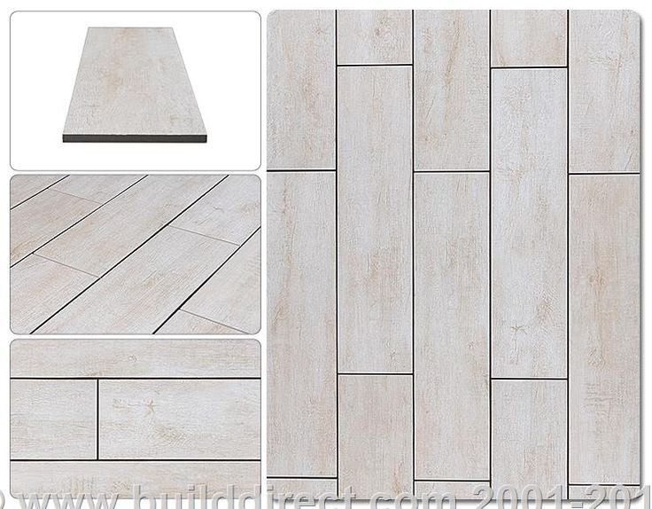 Porcelain Tile Rustic Handscraped Woodgrain Collection