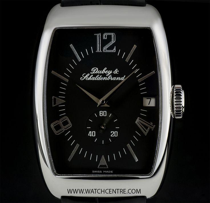 DUBEY & SCHALDENBRAND STAINLESS STEEL BLACK DIAL AERODYN ELEGANCE B&P AELE/ST/BKS/LS  http://www.watchcentre.com/product/dubey-schaldenbrand-s-s-black-dial-aerodyn-elegance-bp%C2%A0aele-st-bks-ls/6986  #Dubey&Schaldenbrand #StainlessSteel #Aerodyn #Elegance #Gents #Wristwatch #Luxury #Timepiece #WatchCentre