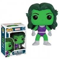 Figurine-Funko POP! Marvel Miss hulk 147