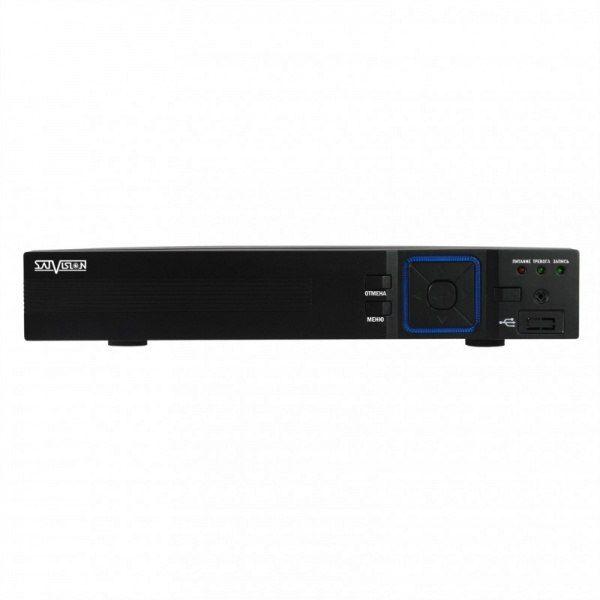 Сетевой видеорегистратор Satvision SVN-8525 SVN-8525 9 канальный сетевой видеорегистратор. Кодек H.264 Hight Profile; Видеовыход BNC (800 × 600)/VGA (1024 × 768)/HDMI (1920 × 1080); 1 режим работы – 9 IP 1080р, 2 режим работы – 9 IP 960р/720р; Аудио вход/выход; Разрешение записи: IP 1920 × 1080, 1280 × 960, 1280 × 720; Скорость записи: 25 к/с; Воспроизведение 2 канала - 25 к/с (1 режим), 4 канала – 25 к/с (2 режим); Режим записи: Ручная запись,по расписанию, по тревоге; Режим поиска: по…