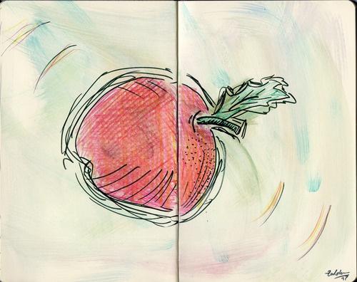 Apple attack! by Kaja Zalokar