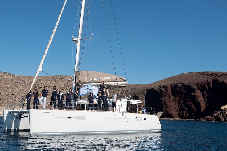 Caldera Yachting Once Again Supports Women's Volleyball Team of Santorini