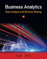 Become a master of data analysis, modeling, and spreadsheet use with BUSINESS ANALYTICS: DATA ANALYSIS AND DECISION MAKING, 5E! This quantitative methods text provides users with the tools to succeed with a teach-by-example approach, student-friendly writing style, and complete Excel 2013 integration. 212.68 ALB