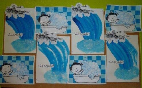 travail sur l'eau chez Christine F