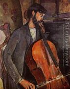 The Cellist  by Amedeo Modigliani