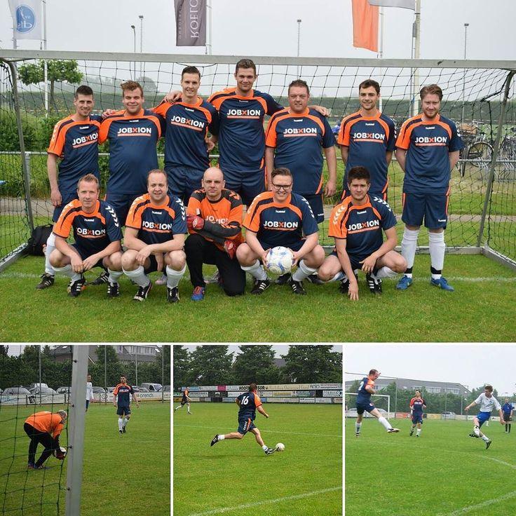 Onze toppers zijn vandaag 6e geworden bij een bedrijven voetbaltoernooi in Opheusden bij Sv Dfs. Goed gedaan jongens! #voetbal #soccer #opheusden #jobxion #mvo #voetbaltoernooi