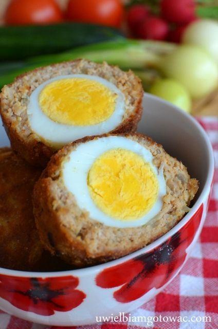 Jajka po szkocku (Jaskółcze gniazda)