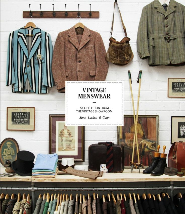 AMAZING book about vintage menswear, curated by vintage connoisseurs from the one of the best vintage boutique in Europe: The Vintage Showroom…