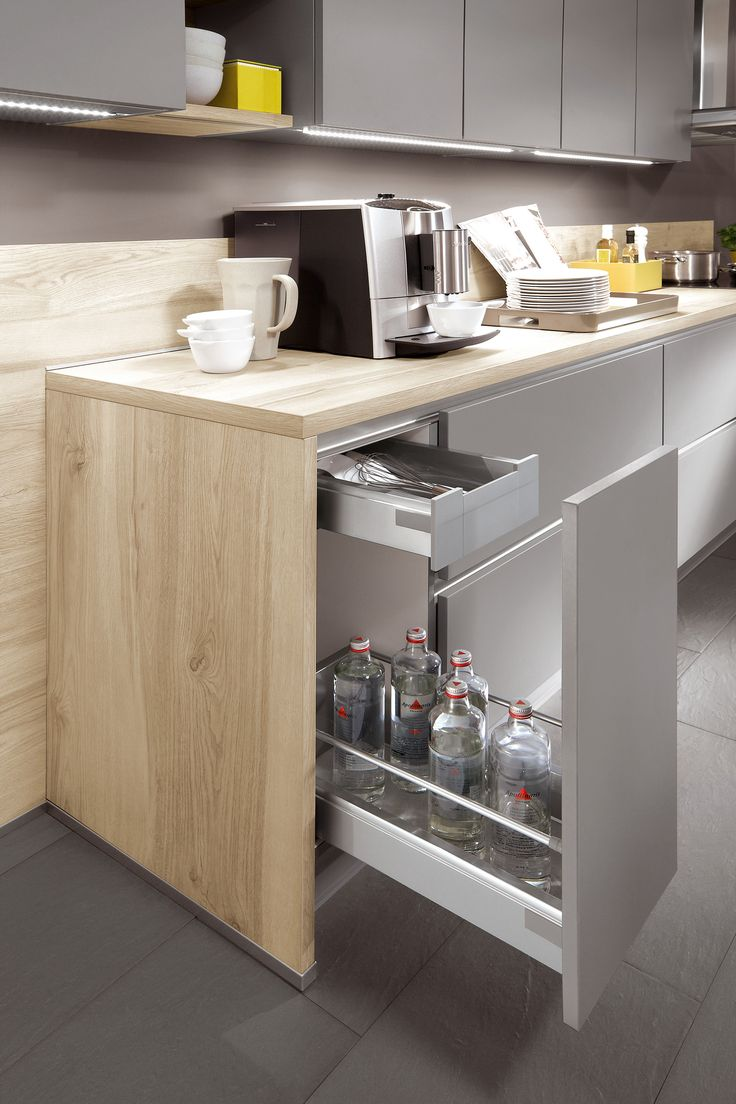 Fesselnd German Kitchen Design / Nobilia Collection   Sophisticated Features In A  Width Of Only 30 Cm