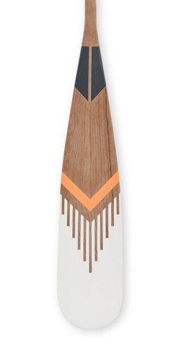 MERIT | norquayco - painted canoe paddle