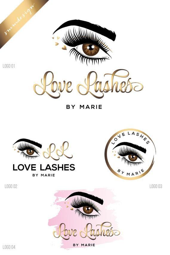 Logo Design Eyelash Logo Beauty Logo Makeup Logo Design Makeup Artist Logo Lash Logo Design Lash Extension Logo Business Logo 237 Extensiones De Pestañas Pestañas Logo De Belleza