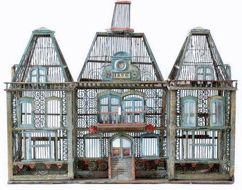 Vente exceptionnelle d'anciennes cages à oiseaux ...
