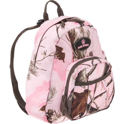 11 inch Game Winner Girl's Real Tree Camouflage Day Pack Camping Hunting  #GameWinner