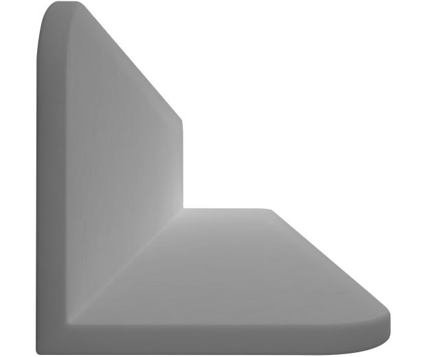 900mm Floating Shelf Solid Stone