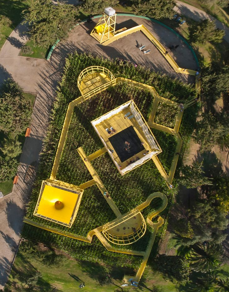 beals & lyon architects create the garden of forking paths in chile