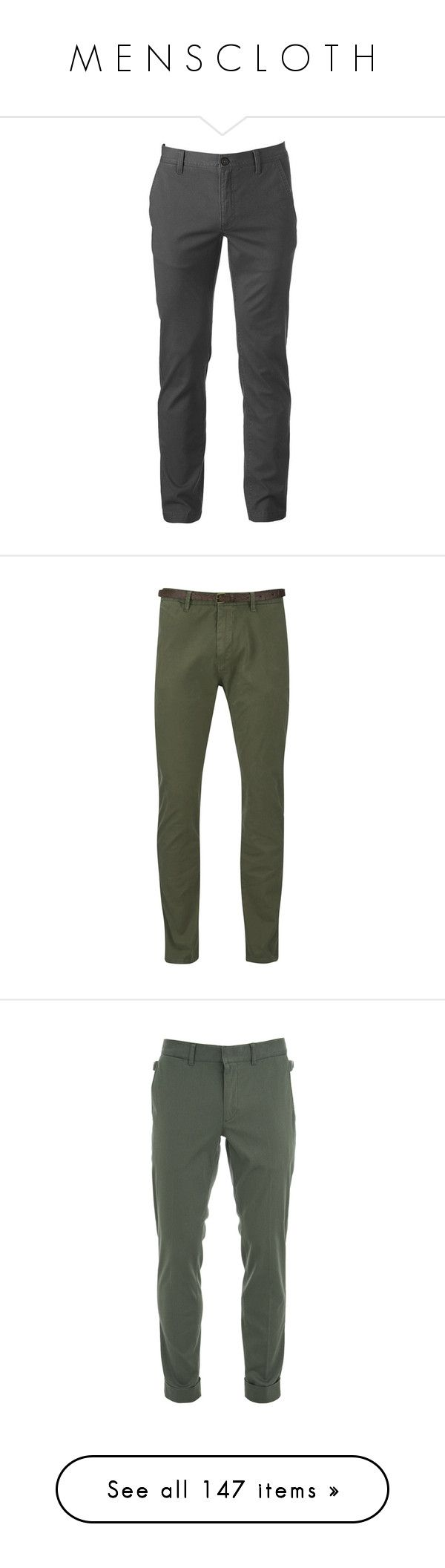 """M E N S C L O T H"" by southerncomfort ❤ liked on Polyvore featuring men's fashion, men's clothing, men's pants, men's casual pants, grey, mens chino pants, mens zip off pants, mens grey dress pants, mens slim fit chino pants and mens gray pants"