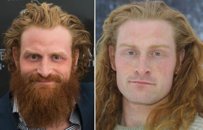 Game of Thrones' Tormund Giantsbane Looks Super Weird Without a ...