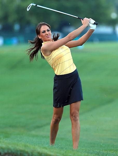 Holly Sonders, pro-am