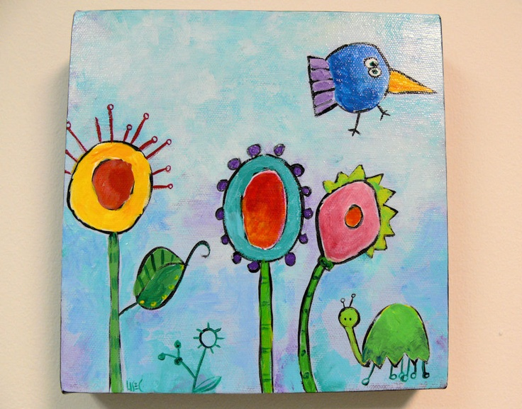 Cristmas Crafts Paint Canvas
