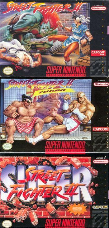 Street Fighter II series