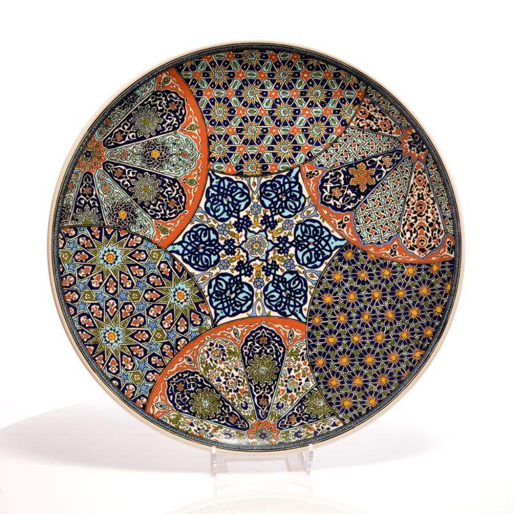 Mustafa Kerkük Klasik Kütahya Çinileri Koleksiyonu - Kütahya Çini ve El Sanatları