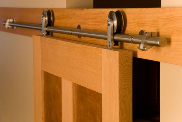 1000 Ideas About Barn Door Track System On Pinterest