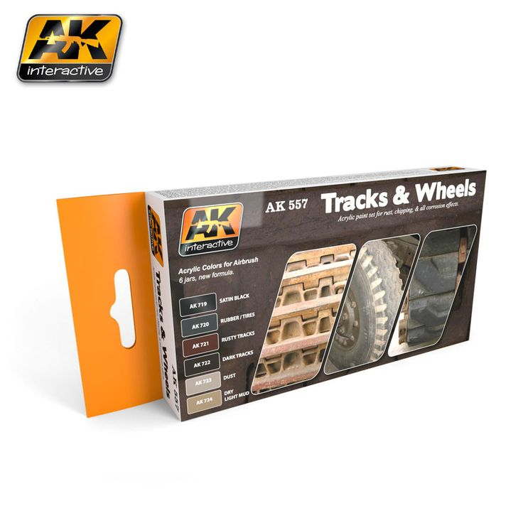 AK557 - Tracks & Wheels
