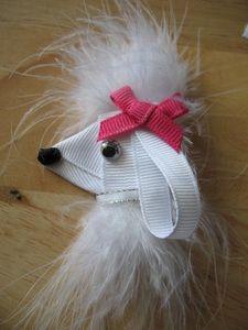cute original ribbon art here, would be cute on a hair clip, @Addie Knight Knight Knight Knight Stevens