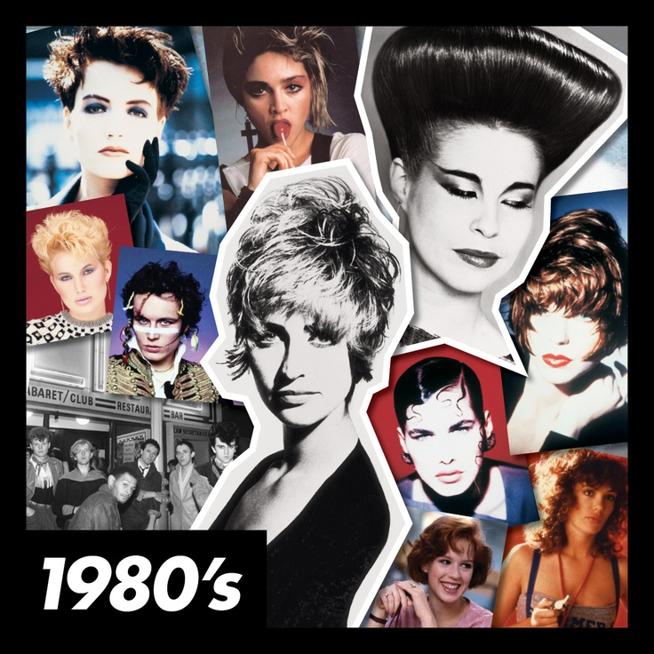 The #80s - including some original hair created by #ToniAndGuy in the 1980s