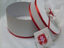 Caja circular de cartón corrugado, enviada por Anabell - IMujer