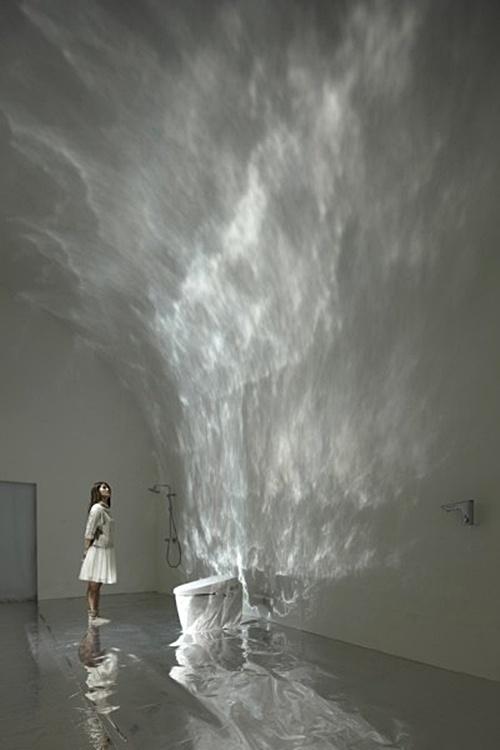 Torafu White Light Projection