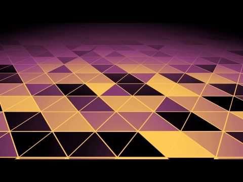 Fondos animados Plano triangulos suaves video Full HD animated background