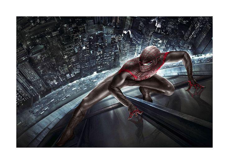 #DJ23, Spiderman, 70 x 50 cm