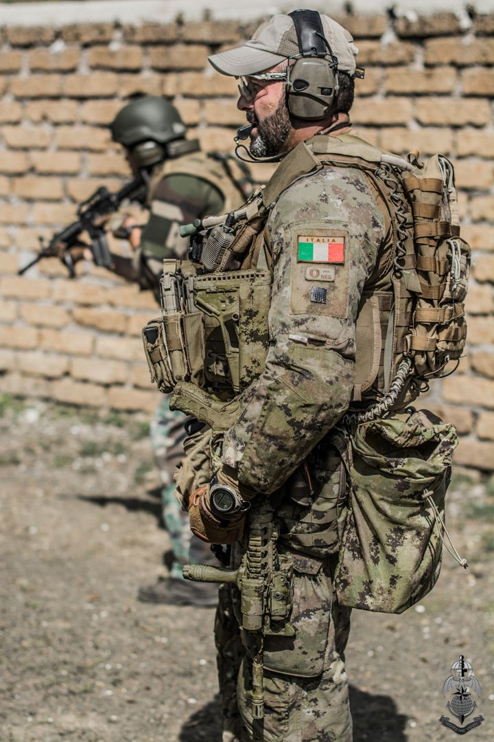 Italian special forces.