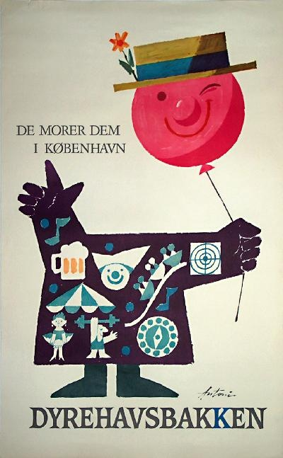 Ib Antoni, 60'erne poster