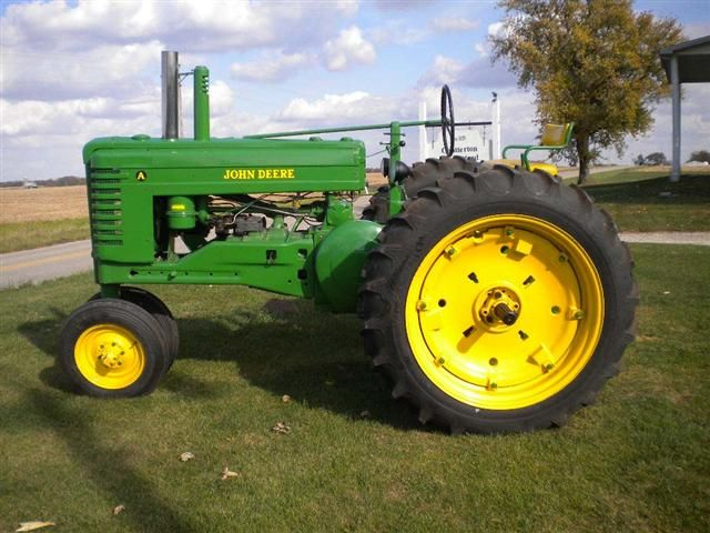 John Deere JD Model A tractor for sale
