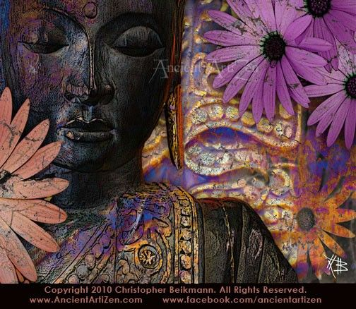 """Jewels of Wisdom"" by artist Christopher beikmann www.fusionidol.com"
