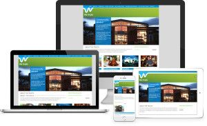 Resoponcive Website shown on multiple devices. Including Ipad tablet design and…