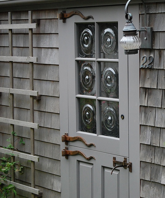 Not a fan of the hardware but this door would work