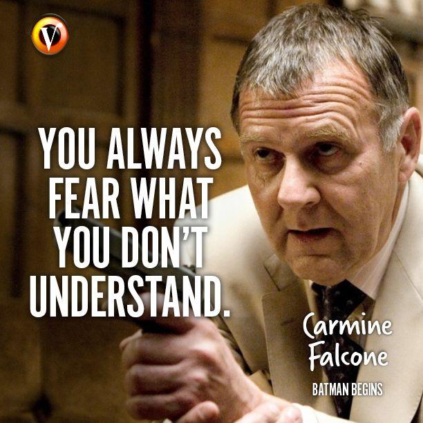 """Carmine Falcone (Tom Wilkinson) In Batman Begins: """"You"""